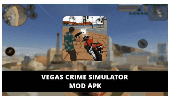 Vegas Crime Simulator MOD APK 5.1 (Unlimited Money)